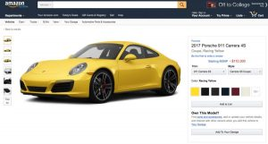 Amazon ya vende coches