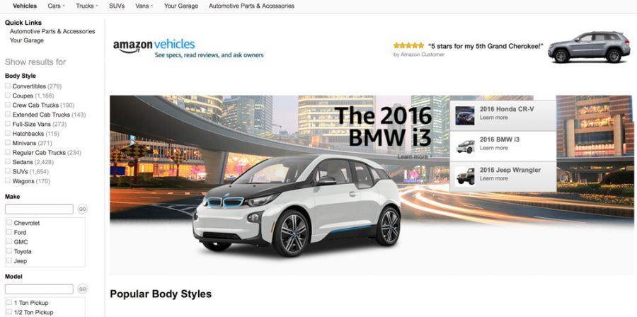 venta de coches amazon