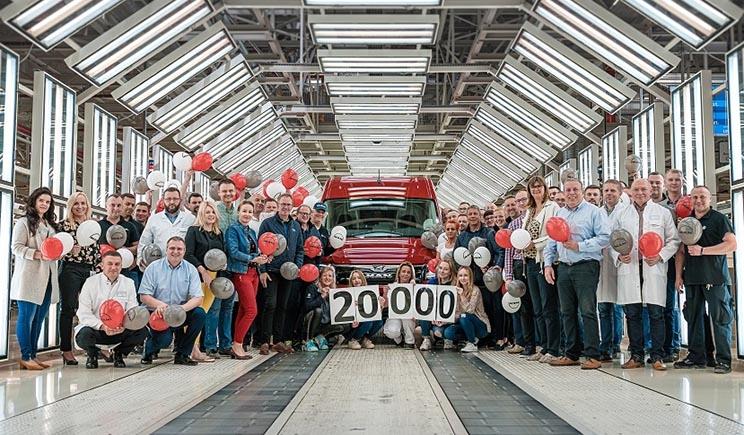 20.000 MAN TGE construidas